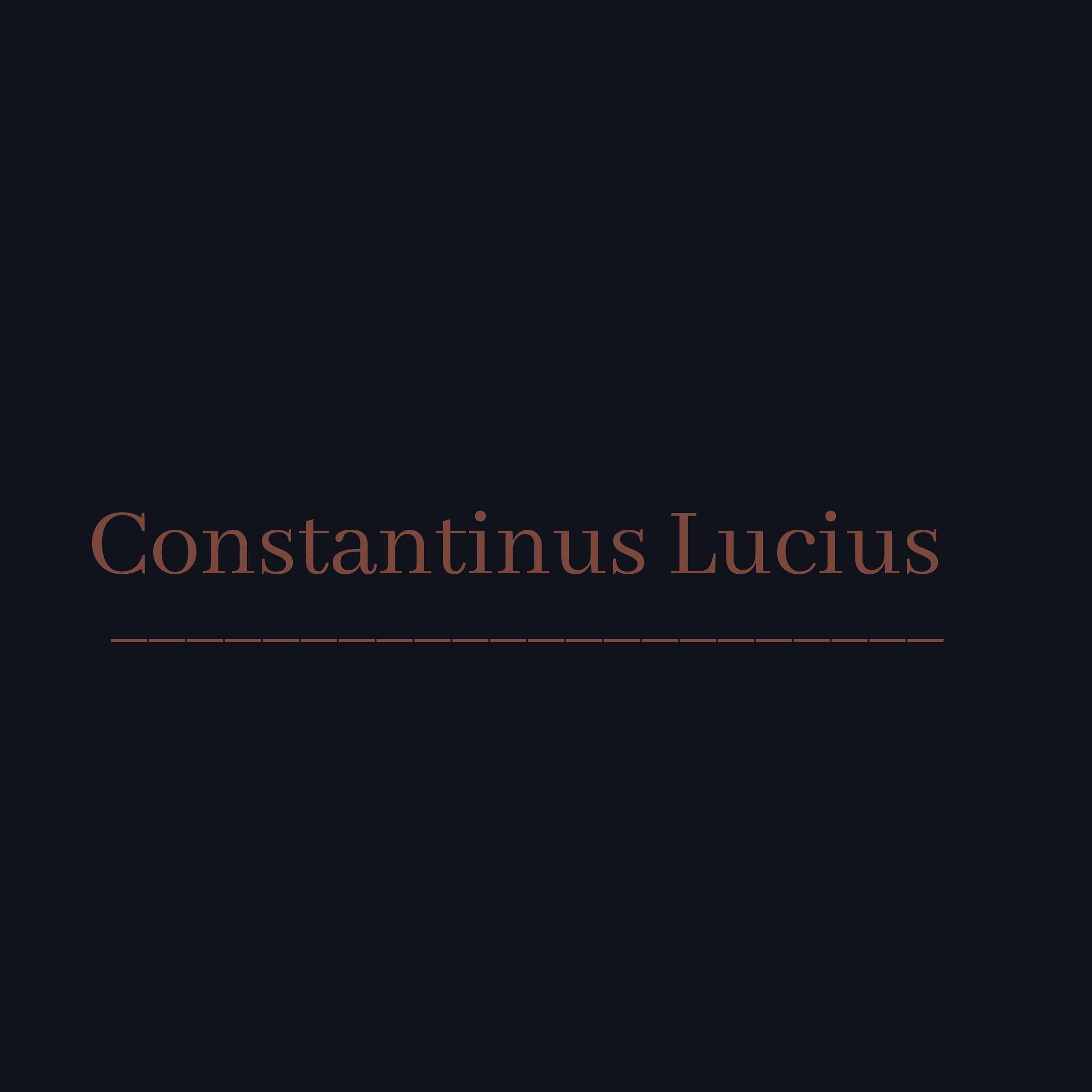 Read more about the article Constantinus Lucius – da uvek bude deo Vas.